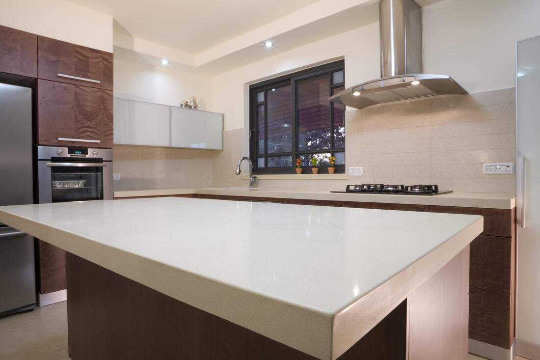 a nice clean kitchen countertop